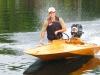 Brad and Julie Marquardt - Moore Lake, Haliburton, Ontario - 2012