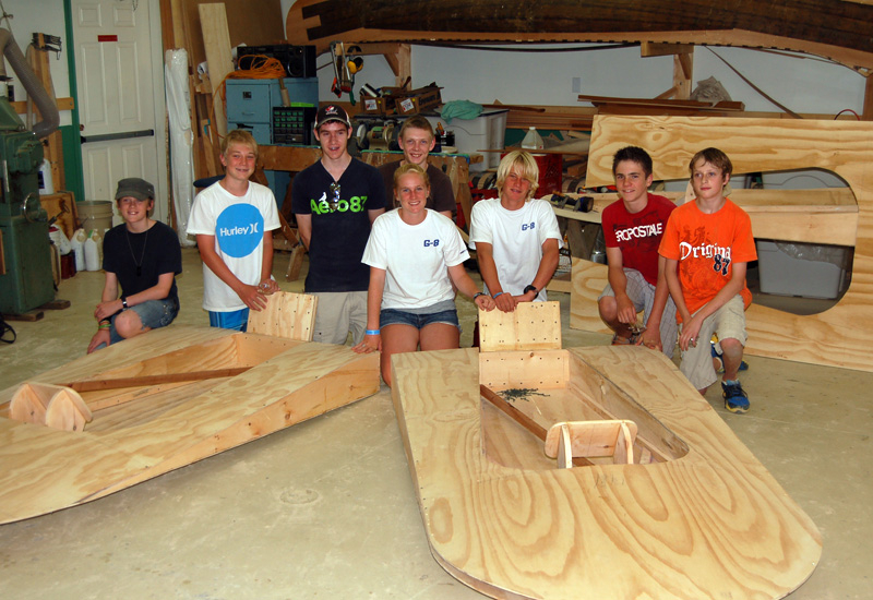Seaflea Building Workshop at the ACBS Summer Boat Show ...